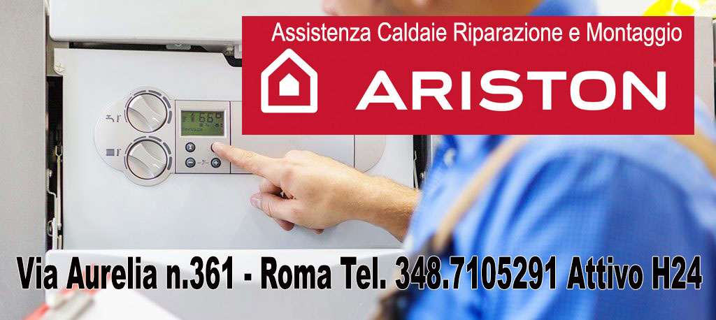 Revisione caldaie Ariston Centro Giano