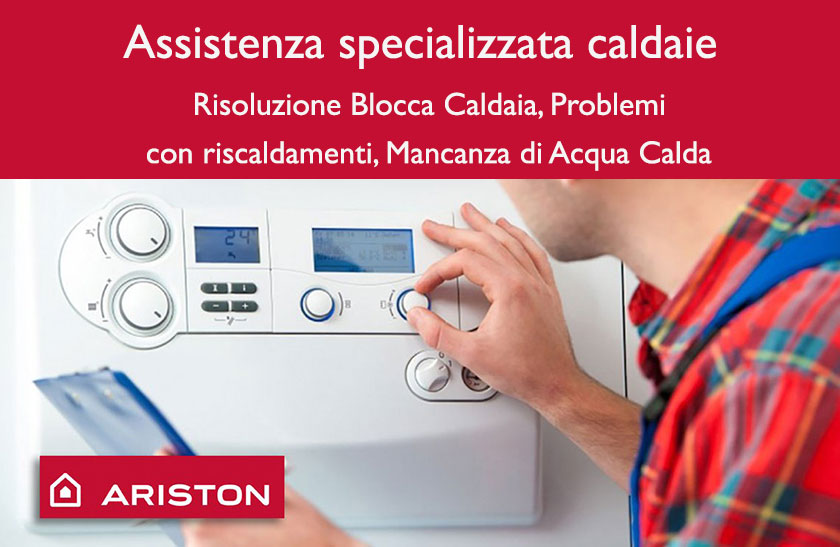 Assistenza caldaie Ariston Roccagiovine